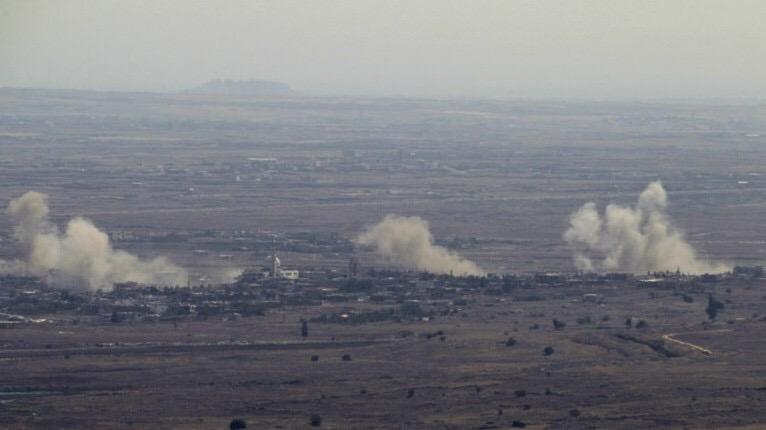 Kóbor lövedékek Szíriából